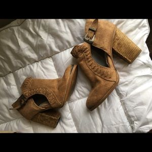 Not Rated Cutout Western Booties